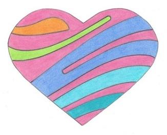 Steven - Heart drawing - 1-2016