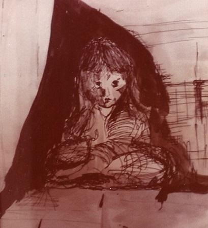 Girl - ink 1