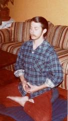Steven - zazen pose - 1980