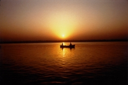 Early morning - Varinasi Ganga River - 1997